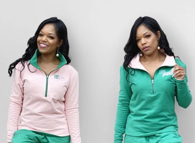 New Arrival- Reversible Pink and Green Pullover