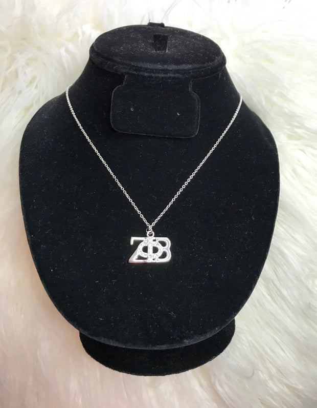 Zeta Lettered Necklace