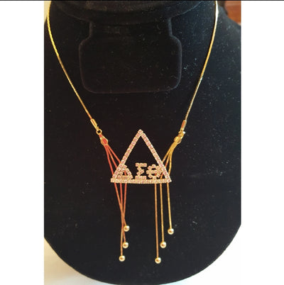 Delta Chandelier Necklace