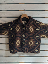 Load image into Gallery viewer, Fuzzy Cropped Western Sweater