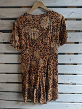 Load image into Gallery viewer, Leopard Romper w/Wrap Skort