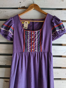 Purple Summer Play Dress