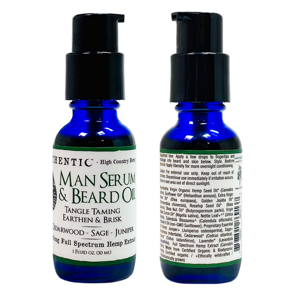 Authentic Man Serum & Beard Oil - Alter-Native