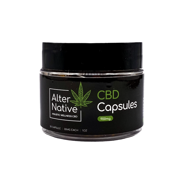 Full Spectrum CBD Capsules - Alter-Native