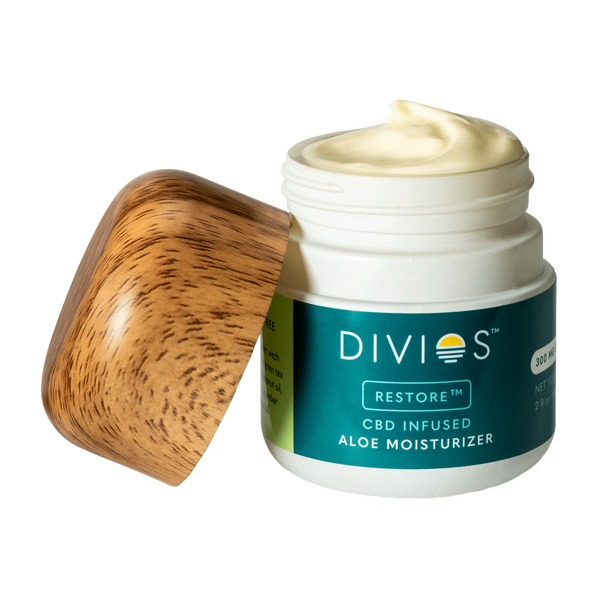 Divios RESTORE All-Natural CBD Aloe Moisturizer - Alter-Native