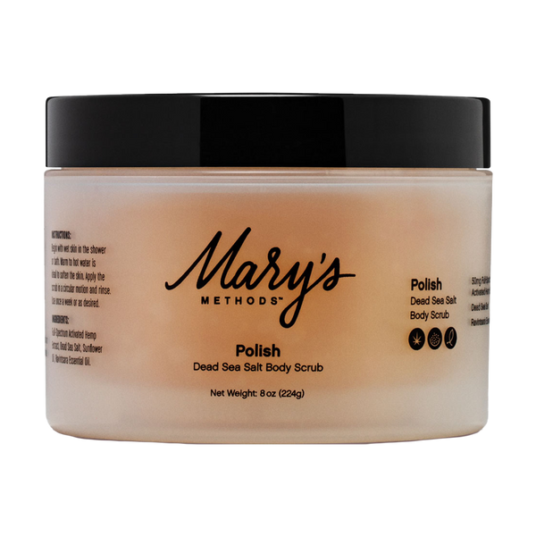 Mary's POLISH Dead Sea Salt Body Scrub - Alter-Native