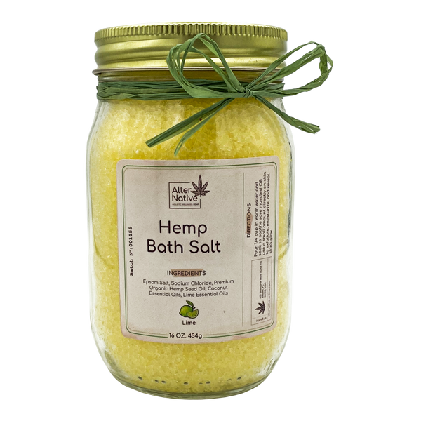 Alter Native Hemp Bath Salt