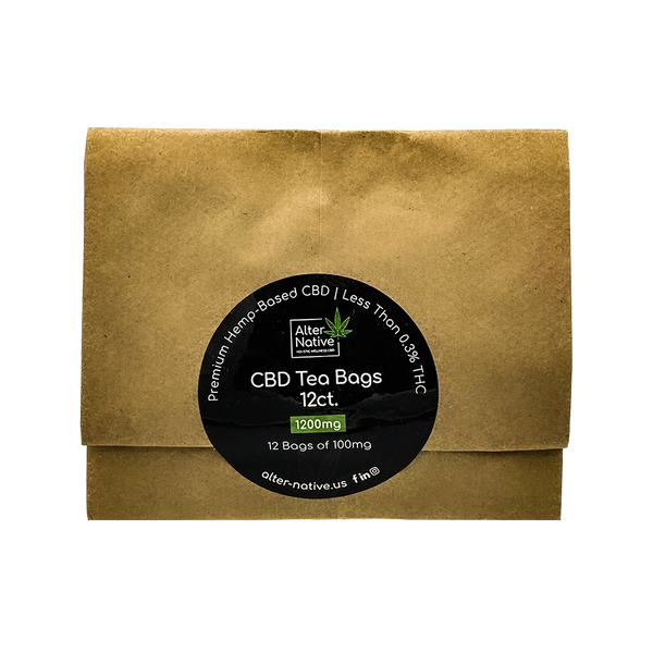 Alter Native 12 Raw Hemp Tea Bags - Alter-Native