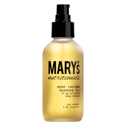 Mary's Nutritionals Massage Oil for intimacy and arousal