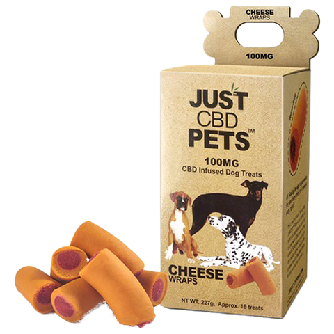 Pet treats with the taste of beef and the benefits of CBD from JustCBD