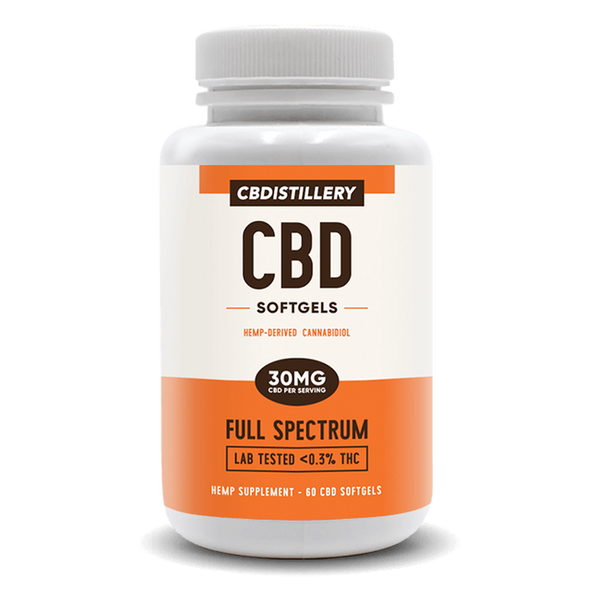 CBDistillery Full Spectrum CBD Softgels - Alter-Native