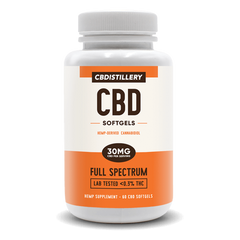 CBDistillery Full Spectrum Softgels
