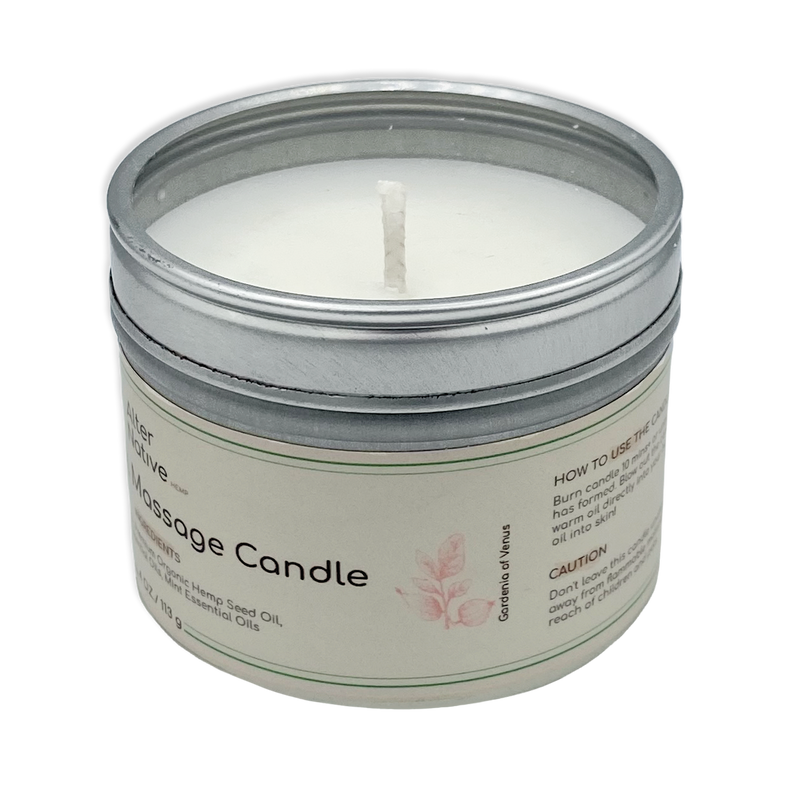 Alter Native Hemp Oil Massage Candle