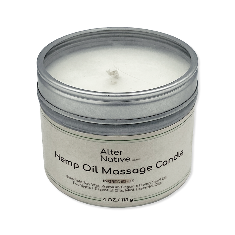 Alter Native Hemp Oil Massage Candle - Alter-Native