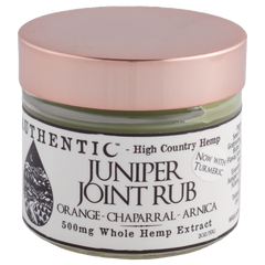 Authentic Juniper Joint Rub 500 mg of CBD