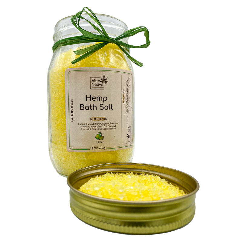 Alter Native Hemp Bath Salt - Alter-Native