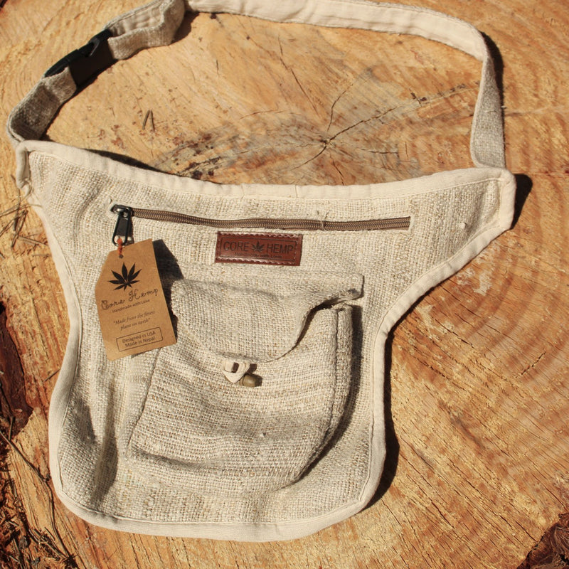 Core Hemp Side Hip Fanny Pack - Alter-Native