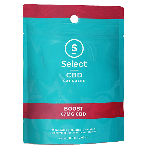 Select CBD 2-Pack Gel Capsules with Essential Oils - Alter-Native