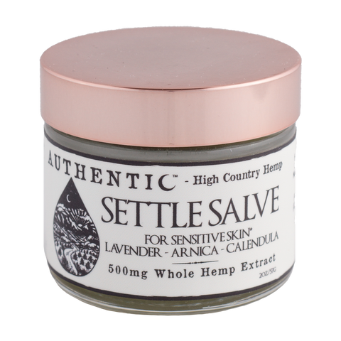 Authentic 500 mg of CBD Settle Salve