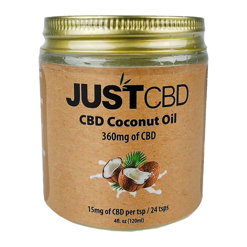 JustCBD Coconut Oil - Alter-Native