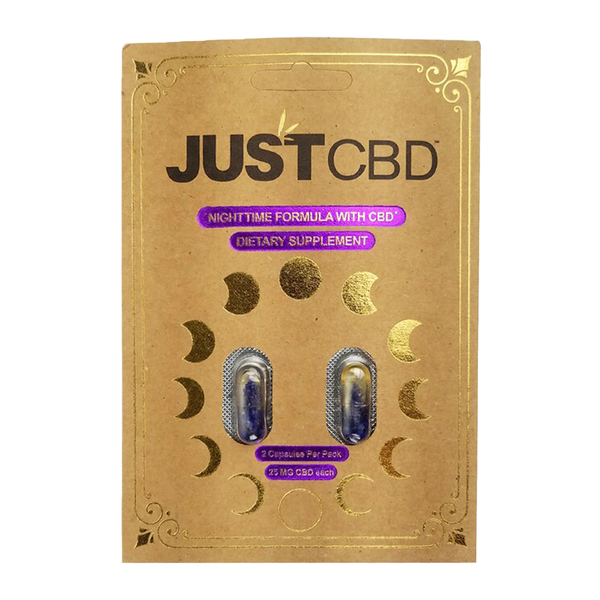 JustCBD 2-Pack Capsules - Nighttime Formula - Alter-Native