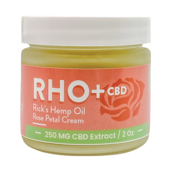 Rick's Hemp Oil Rose Petal Cream - Alter-Native