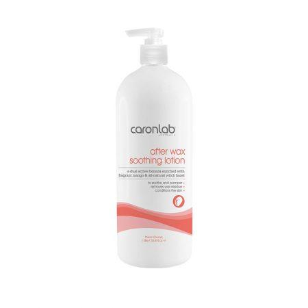 CARONLAB AFTER WAX SOOTHING LOTION MANGO & WITCH HAZEL 1L