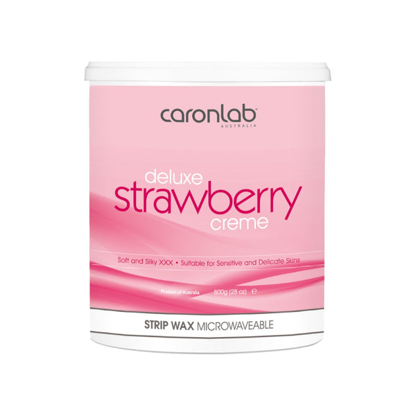 CARONLAB DELUXE STRAWBERRY CRÈME - 800G MICROWAVABLE JAR