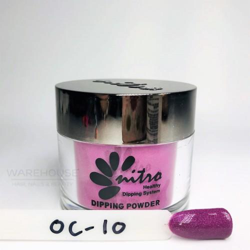 NITRO DIPPING POWDER OC10 - Ocean collection 12 colours