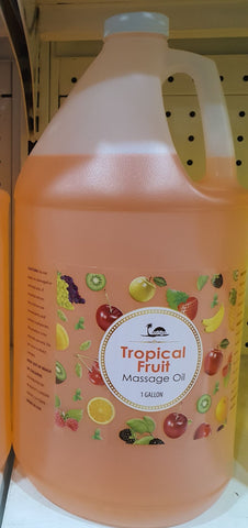 BE BEAUTY MASSAGE OIL ORANGE 1 GAL
