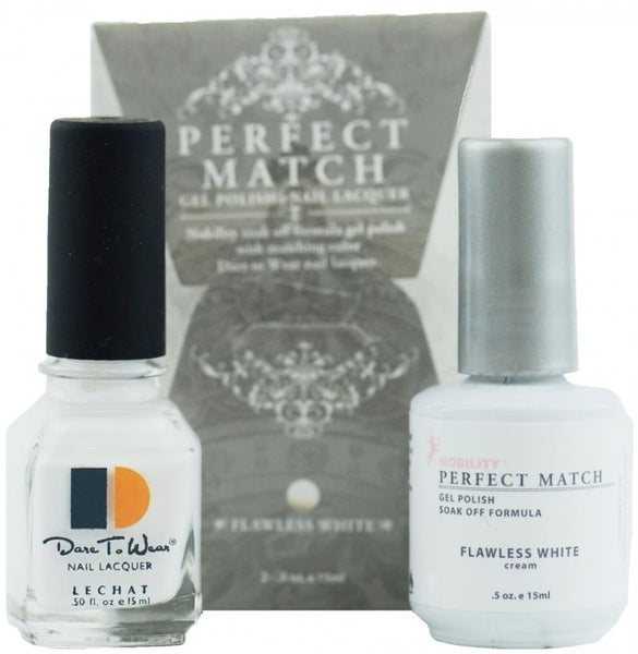PERFECT MATCH SET FLAWLESS WHITE #PMS07