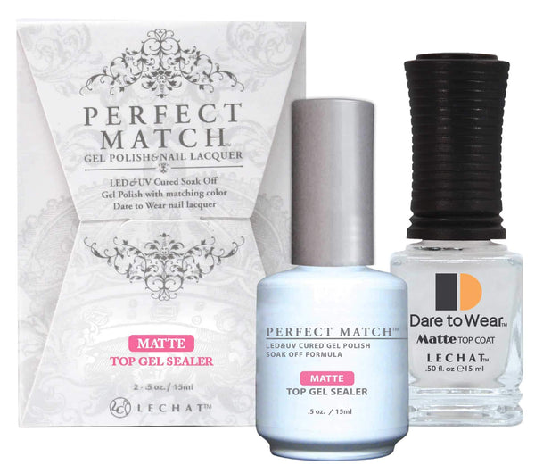 PERFECT MATCH SET MATTE TOP GEL #PMTM01