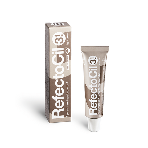 REFECTOCIL 15ml EYELASH AND EYE BROW TIN LIGHT BROWN