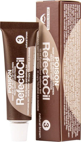 REFECTOCIL 15ml EYELASH AND EYE BROW TIN NATURAL BROWN