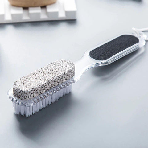 SPA PEDICURE BRUSH & SCRUBBER 4 SIDES 4 IN 1 MADE IN VIETNAM