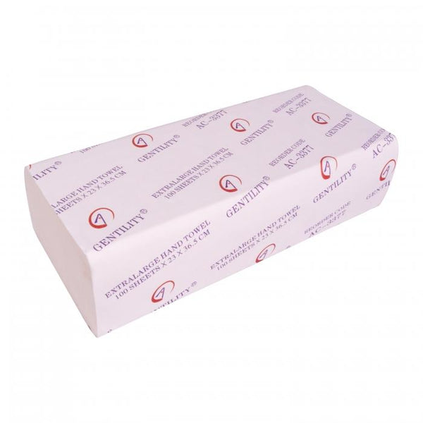 GENTILITY INTERLEAVED PAPER TOWEL 200PCS PACK