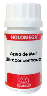 Holomega Agua de Mar Ultraconcentrada 50 ó 180 caps.