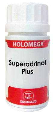 Holomega Superadrinol Plus 50 y 180 caps.