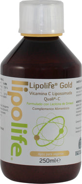 Vitamina C Gold liposomada de Lipoife 250ml - Kinesia360 Shop