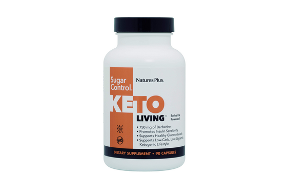 KetoLiving Sugar Control de Natures Plus.