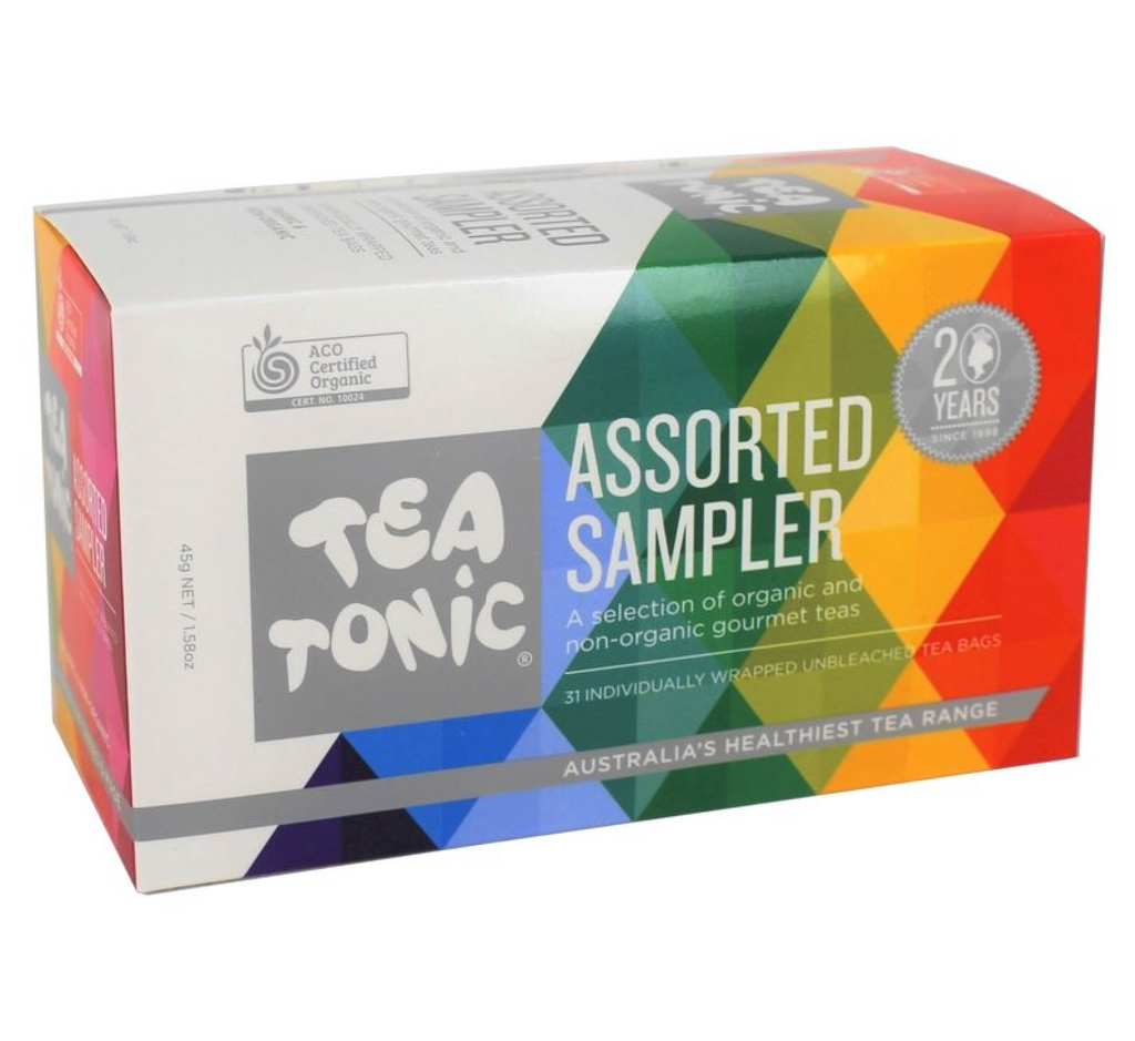 Tea Sampler Box assorted