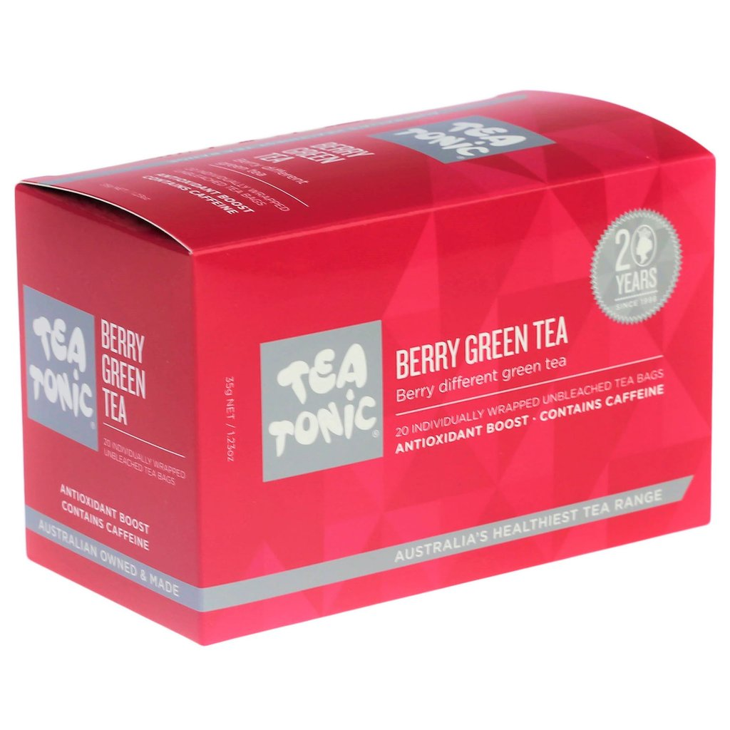 Berry Green Tea