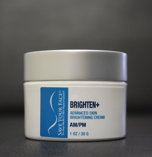 Save Your Face Brighten+ Skin Creme medical skincare