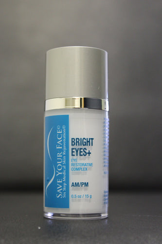 Save Your Face Bright Eyes+ eye cream medical skincare