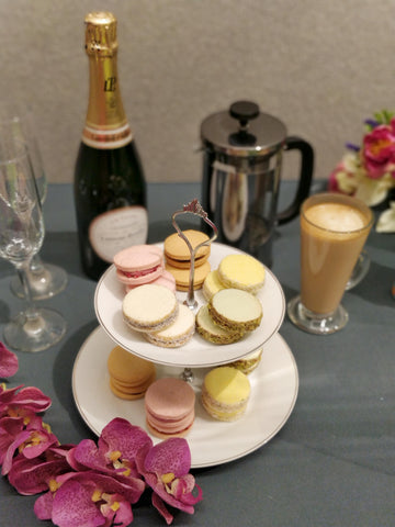 Afternoon Tea with Alfajores by Margot & Montañez