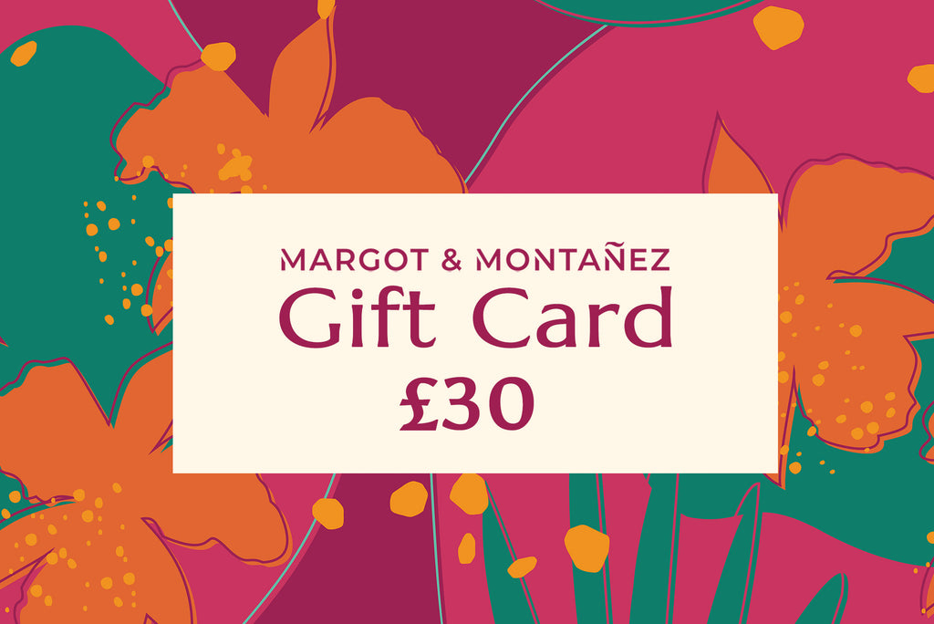 Gift Card from Margot & Montanez