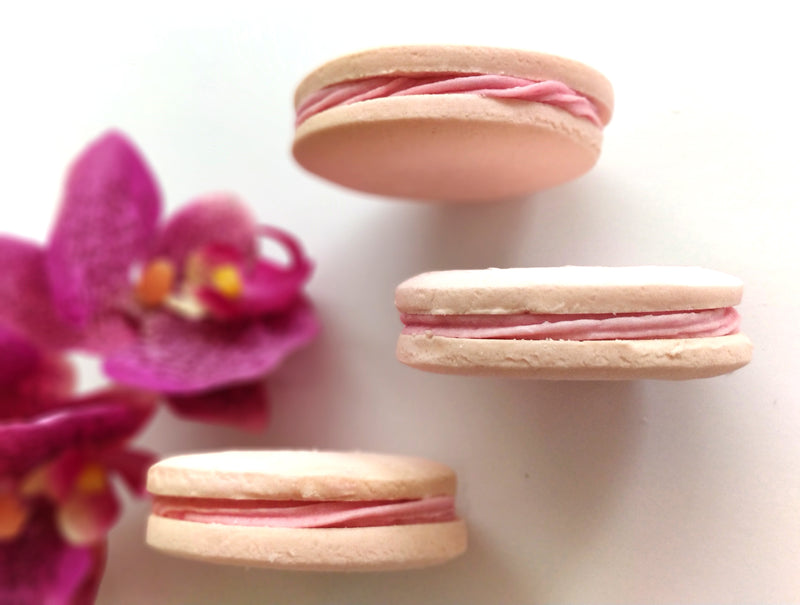 Raspberry & White Chocolate Alfajores </br>(4 large units)