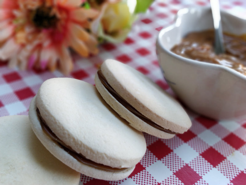 Salted Caramel Alfajores </br>(4 large units)