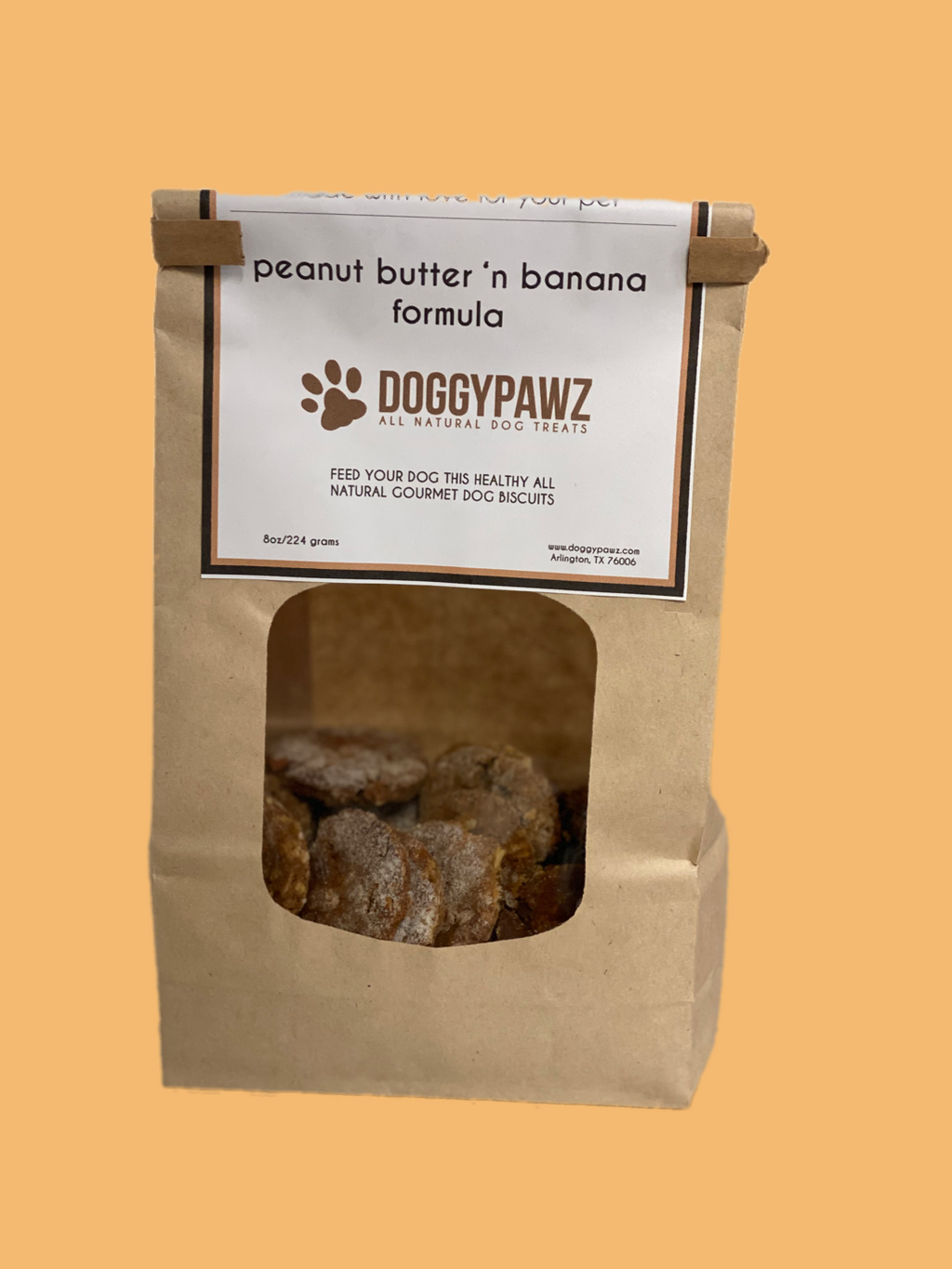 Peanut Butter & Banana - Doggypawz, LLC