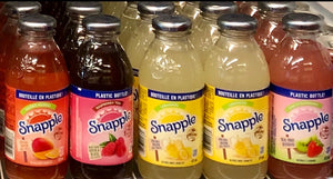 BOISSONS SNAPPLES / SNAPLES DRINKS